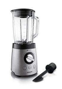 Küchenmixer test Philips HR2195/08 Standmixer mit 21.000 U/min, 900W, für Smoothies und Milchshakes - 1